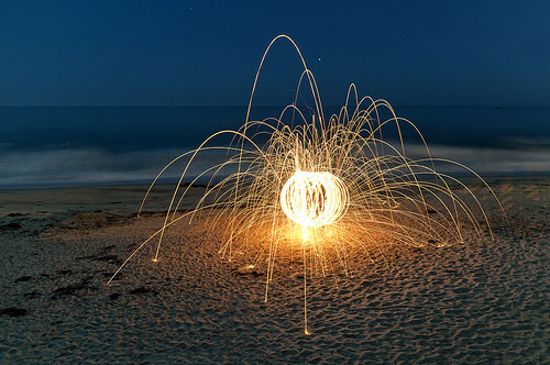 How to Use Steel Wool for Beautiful Light Painting Photographs