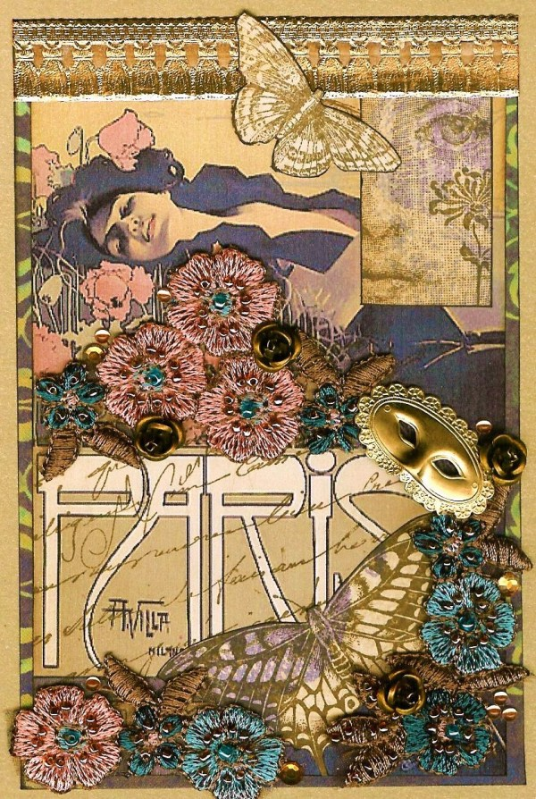 Art Nouveau Sunday Postcard