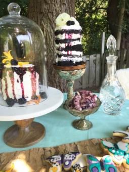 boho wedding cakes