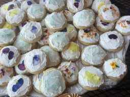 Edible Flower sugar cookies