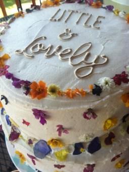 wild flower cake