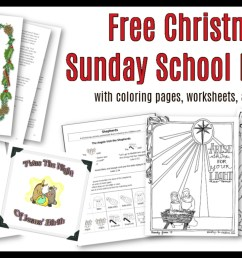 Christmas Sunday School Lessons \u0026 Activities - Sunday School Works [ 780 x 1340 Pixel ]