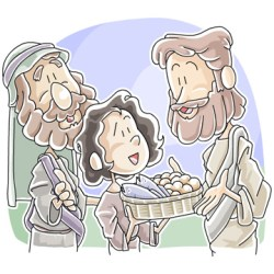 Jesus Feeds the 5000 Sunday School Lesson