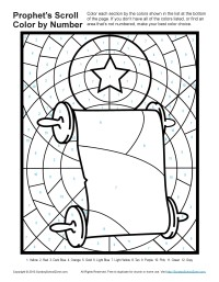 Bible Coloring Pages For Kids Prophets Told About Gods Son