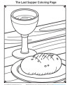 The Last Supper Bible Lesson Activities for Kids