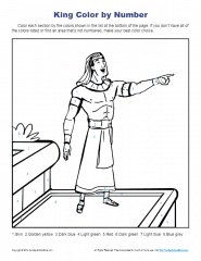Bible story Coloring Pages for Kids Joseph Helped the King