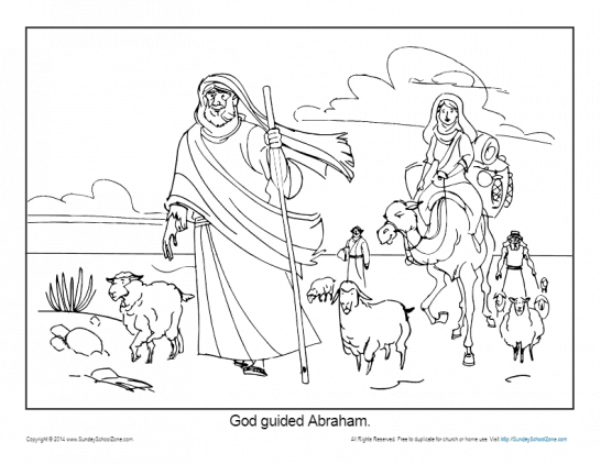 abraham and isaac activities for children pdf