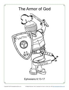 Shield Of Armor Coloring Pages Coloring Pages