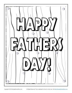 Free, Printable Father's Day Greeting Cards on Sunday