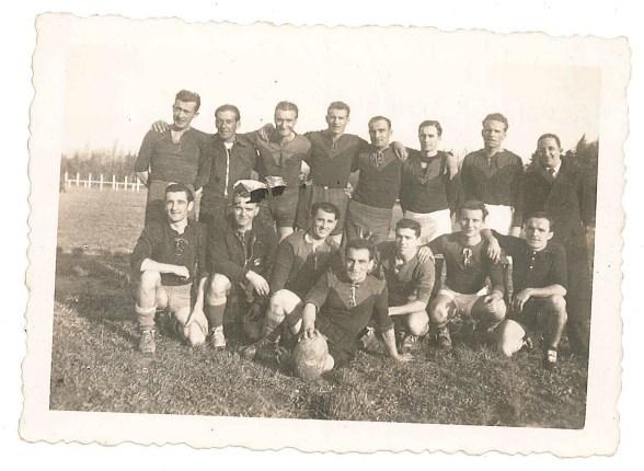 Match de rugby entre Salon et Sorgues - 11 novembre 1945