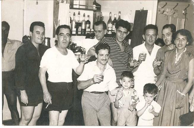 Le comité d'accueil à Rio de la communauté italienne