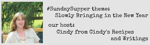 Cindy from Cindy's Recipes and Writings, this week's host
