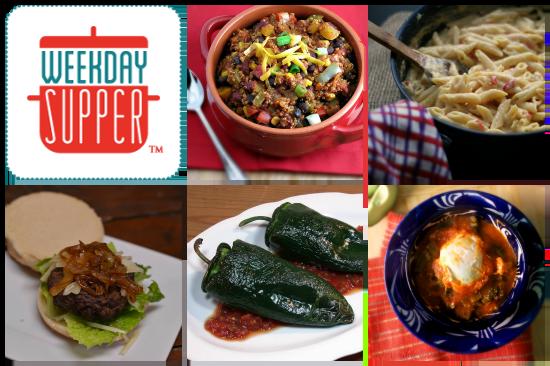 Weekday Supper Menu 2.3-2.7