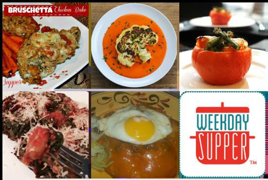 Weekday Supper Menu 2.10-2.14