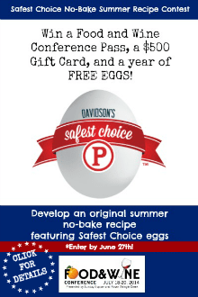 Safest Choice No-Bake Summer Recipe Contest
