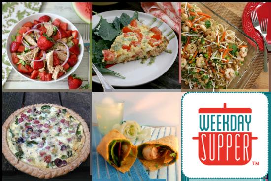 Weekday Supper Menu 6.23-6.27