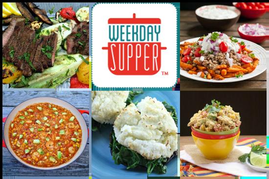 Weekday Supper Menu July 7-11