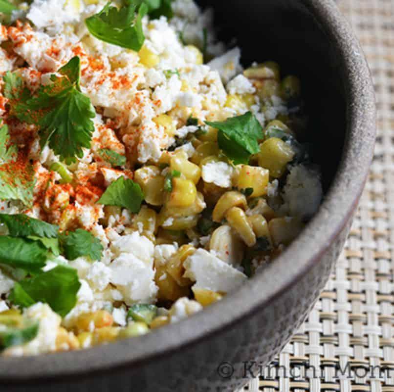 Mexican Corn Salad #SundaySupper