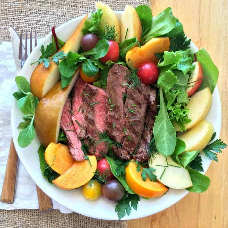 Flap Steak Salad Bowl
