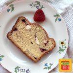 Strawberry Bread with Cream Cheese