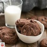 Triple Chocolate Cookies #CookieJar