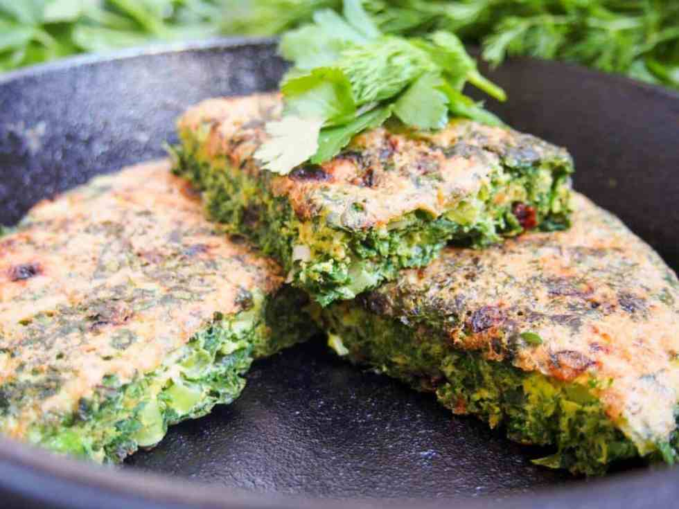 Persian Herb Frittata #WeekdaySupper