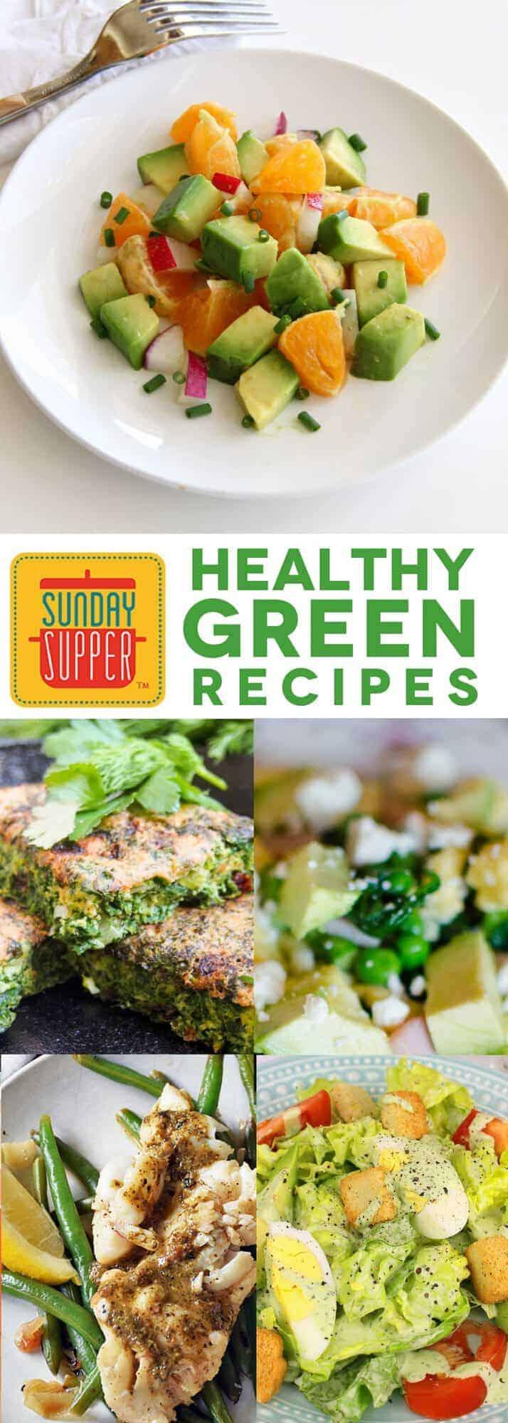 healthy green recipes