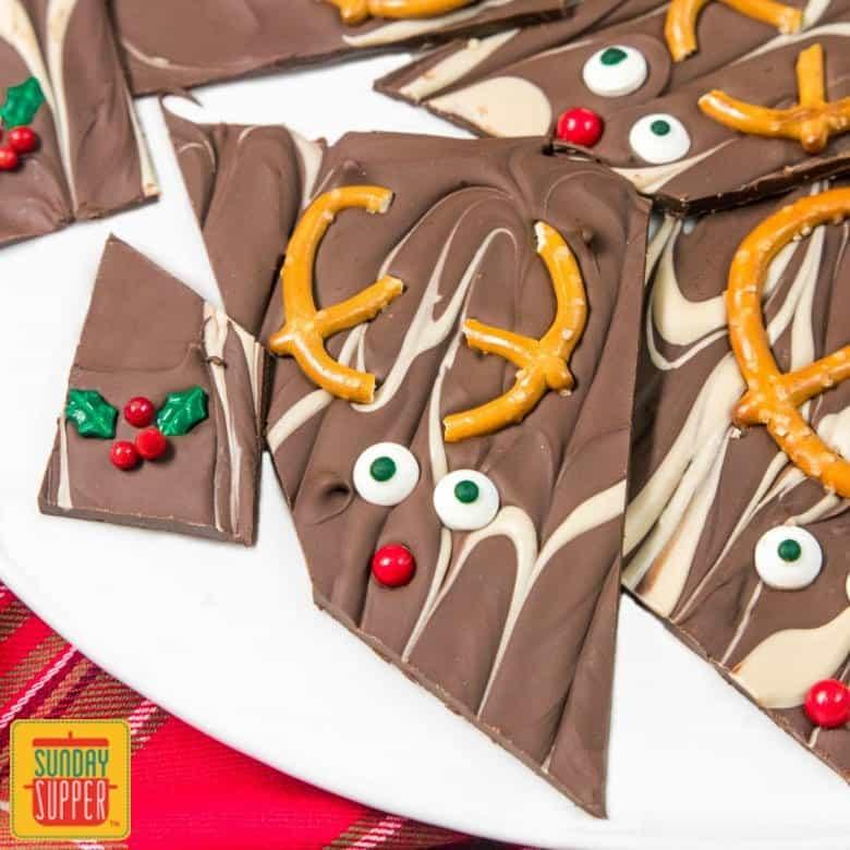 Christmas Bark Recipe #SundaySupper