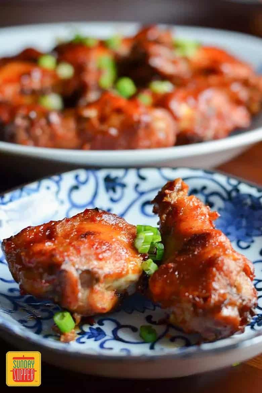 Korean-Style Spicy Wings