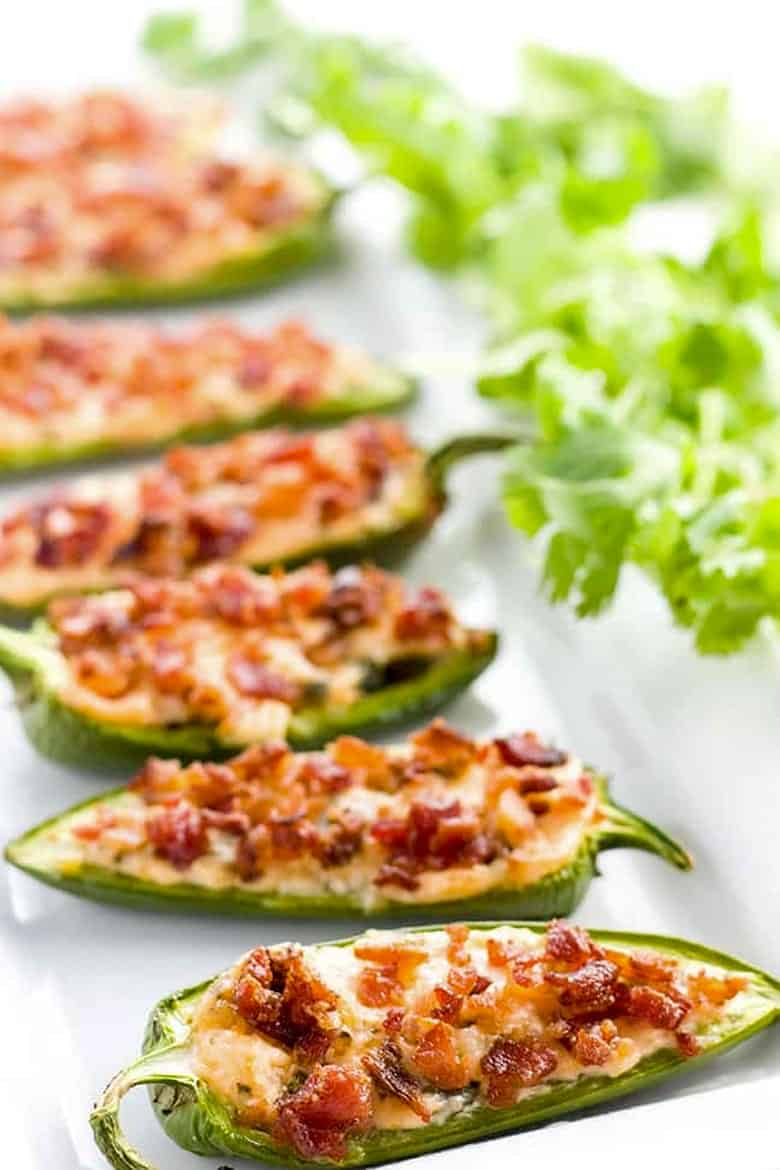 Cream Cheese Jalapeño Poppers with Bacon