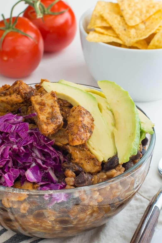 Vegan Enchilada Bowl