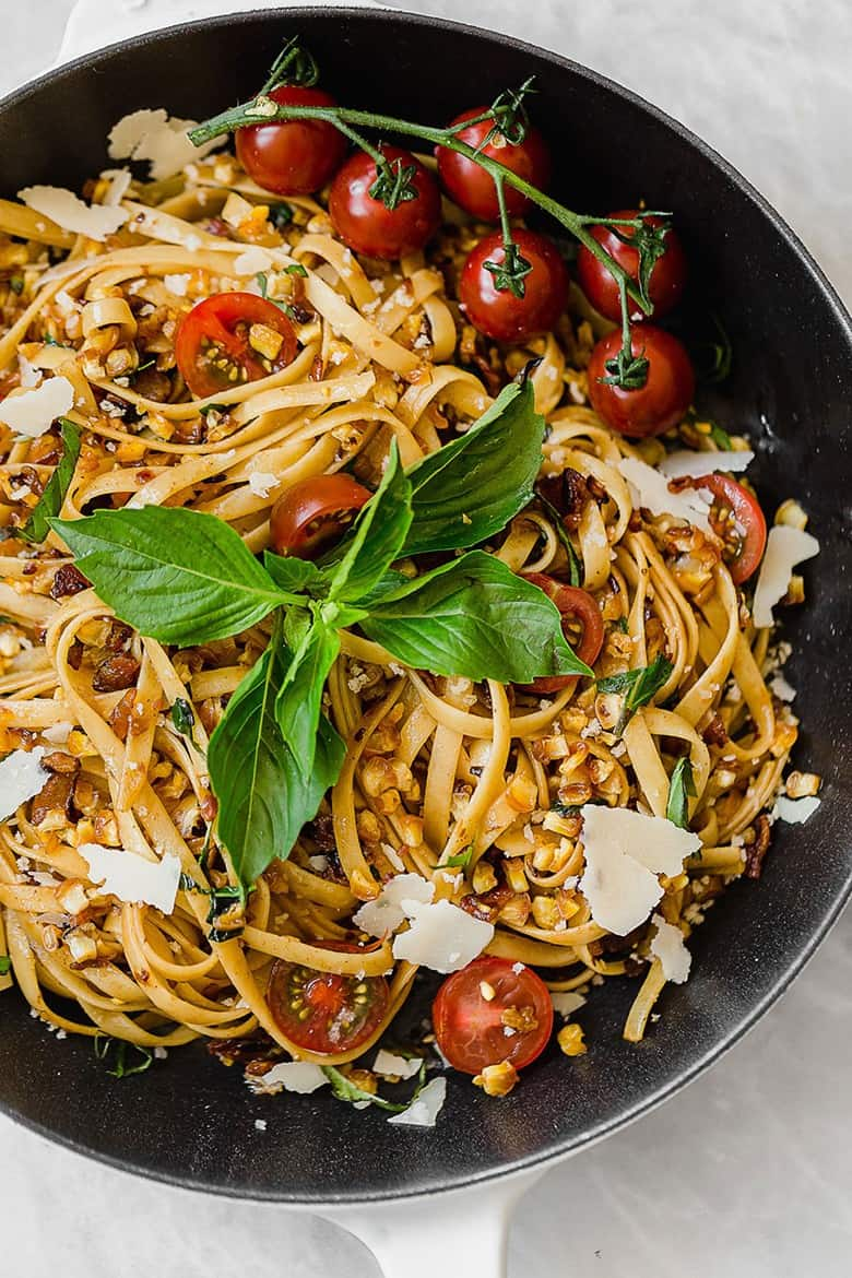 Summer Brown Butter Pasta for Two