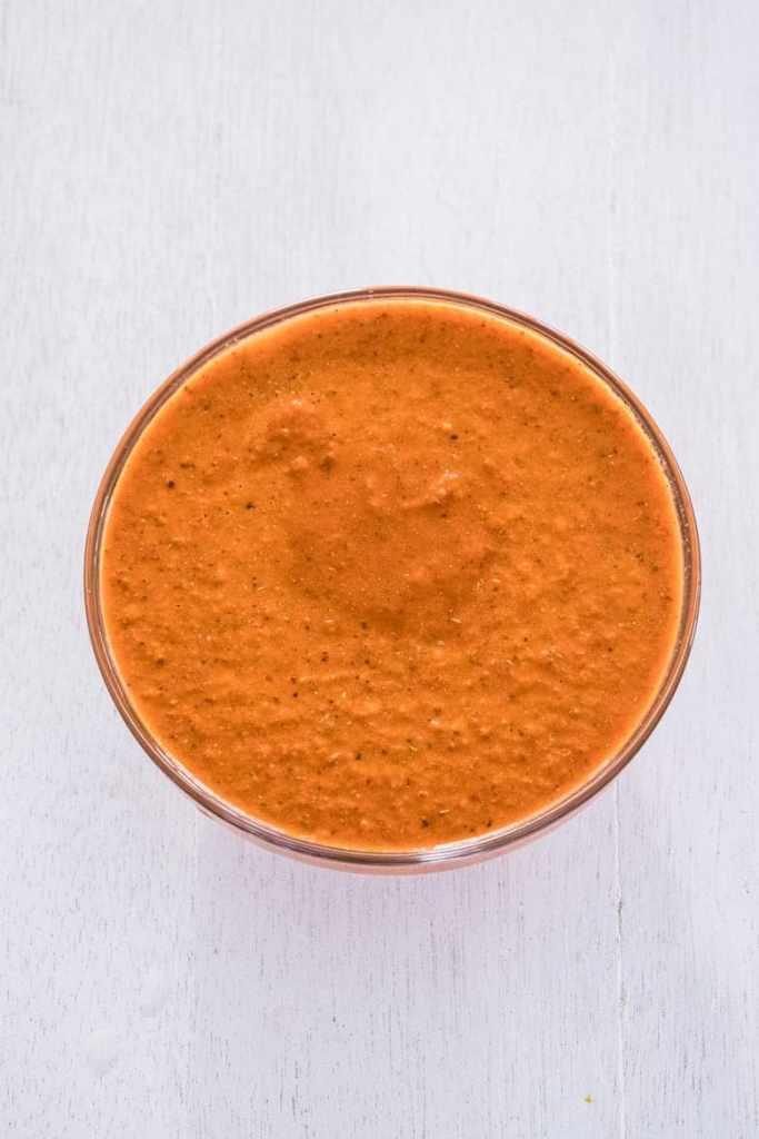 Peri peri sauce after blending