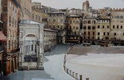 Gordon McDowall, Piazza del Campo Siena