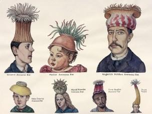 Ellis Nadler, The anemone hats