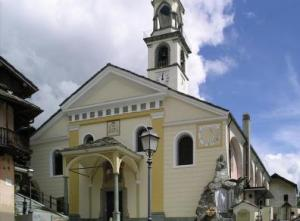 la chiesa di Antagnod, chiesa cattolica, parrocchia, ayas, Meteo Ayas