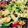 Salat med avocado og æg