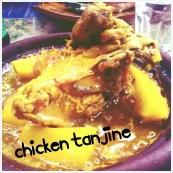 Kæmpe portion kylling-tanjine
