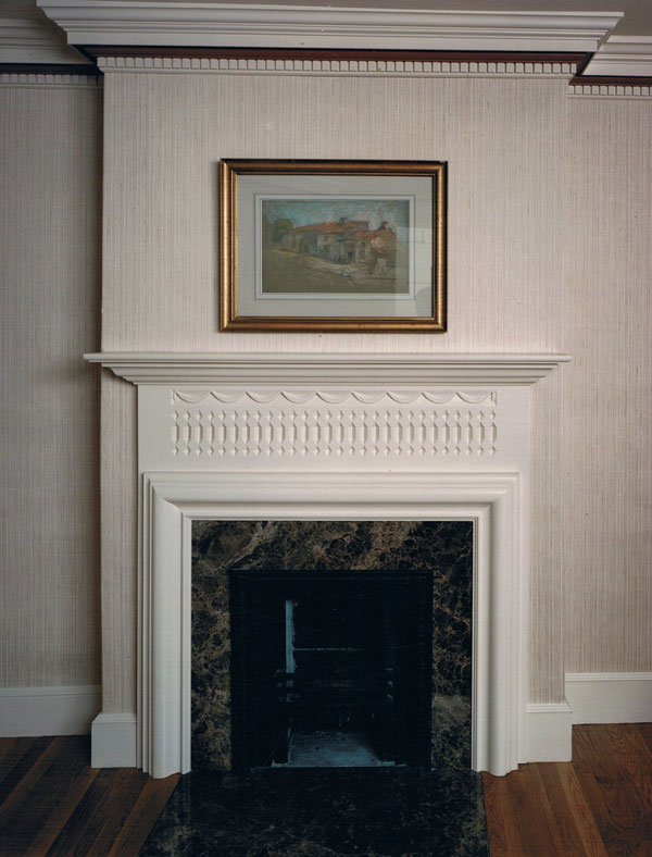 How To Fit A Fireplace Authentic Colonial Mantels & Fireplaces By Sunderland
