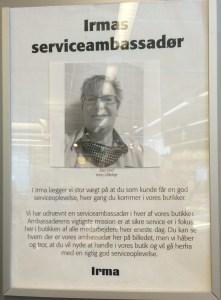serviceambassadør