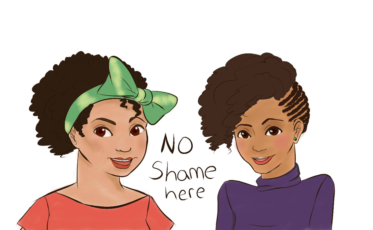 Incredible Ladies Dont Be Ashamed And Wear Your Hair El Natural The Sundial Short Hairstyles Gunalazisus