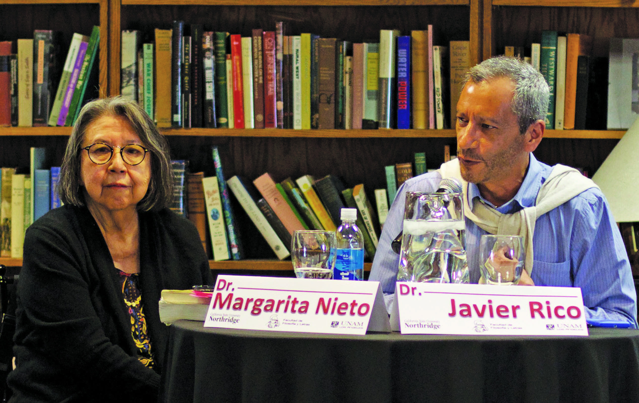 Color printing csun - Margarita Nieto Professor Of Chicana O Studies And Javier Rico A Professor