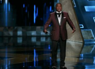 Actor and comedian Tracy Morgan hosts the 67th Annual Primetime Emmy Awards at Microsoft Theater