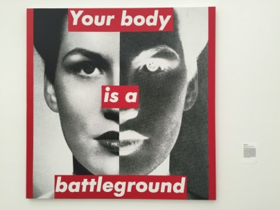New York 1989 by the postmodern feminism Barbra Kruger.