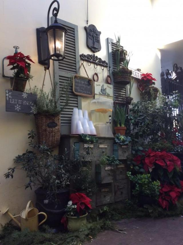sweet butter kitchen has prepared for the holidays with christmas decorations and ornaments photo credit roza asgharzadeh