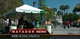Still from Matador News shows CSUN campus