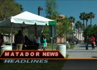 Still from Matador News shows CSUN campus