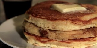 Pancakes pictured