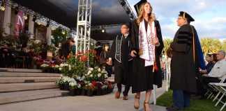 CSUN graduates walk off stage