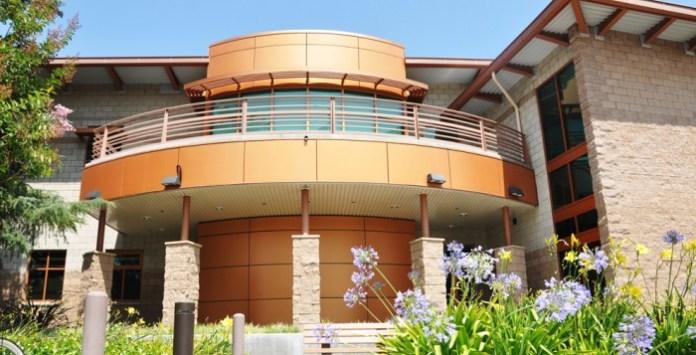 CSUN police department services building exterior